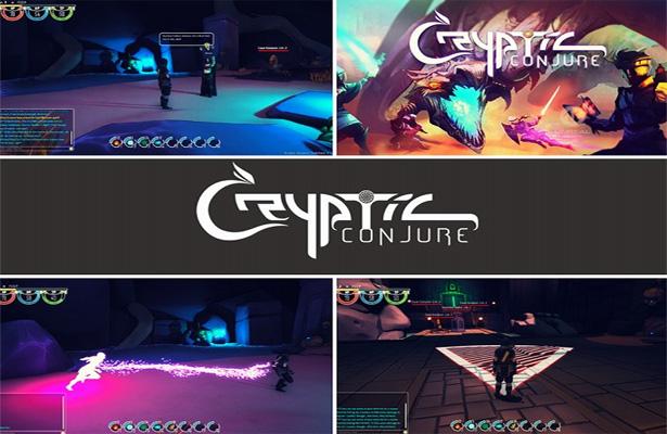 Ambitioniertes Action-Rollenspiel auf der Blockchain: Cryptic Conjure mit Gameplay-Video