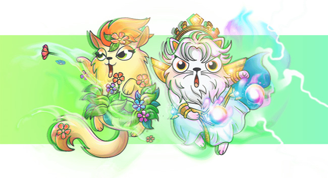Weekly Update: CryptoKitties in Gods Unchained – Justin Sun spielt TronGoo