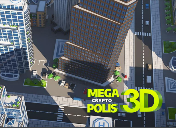 Weekly #48: MegaCryptoPolis bald bewohnt und in 3D – neuer Hash Rush Video-Trailer
